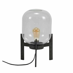 Tafellamp Glass Vintage 44cm