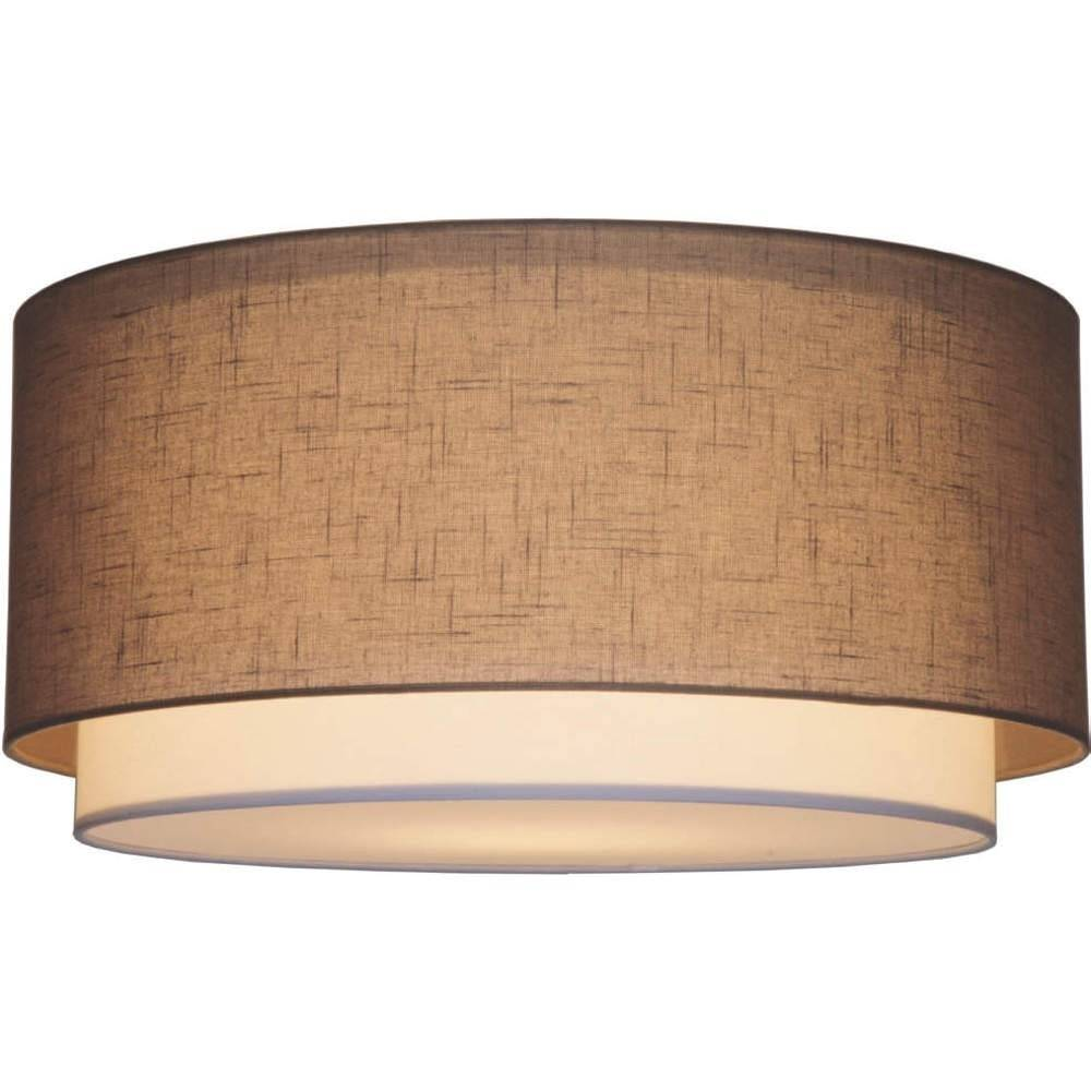 Plafondlamp Verona Taupe 47cm
