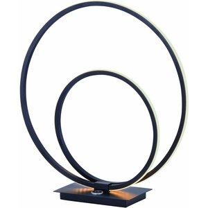 Tafellamp Ophelia Led Mat zwart 38cm