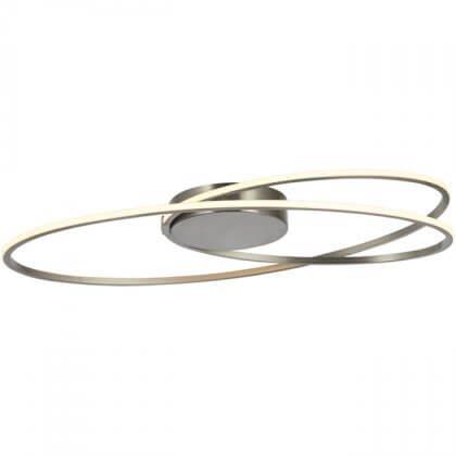 Plafondlamp Ophelia RVS 60cm Oval