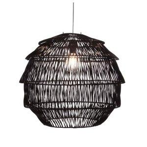 Hanglamp Rotan Artichoke Zwart Ø 60 cm