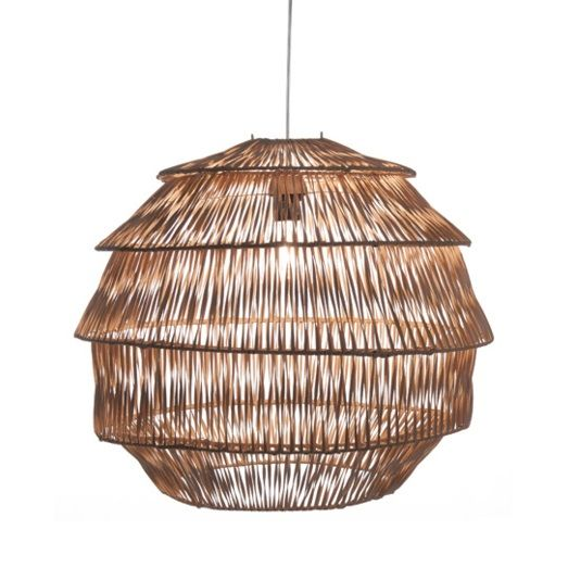 Hanglamp Rotan Artichoke Naturel � 60 cm