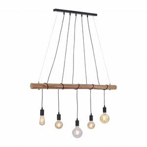 Hanglamp DAMIAN Zwart 5 Lichts