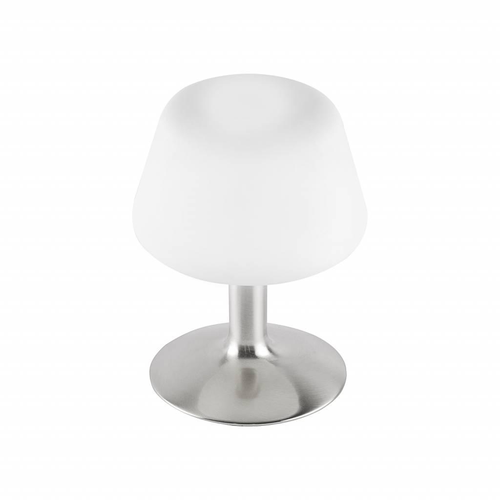 Tafellamp TILL RVS incl. Stappendimmer