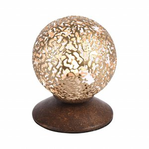 Tafellamp GRETA Roest 10cm