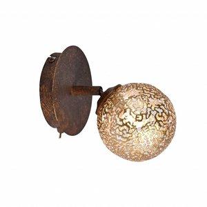 Wandlamp GRETA Roest 1 Lichts