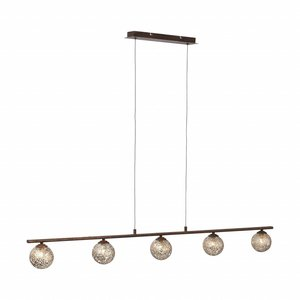 Hanglamp GRETA Roest 5 Lichts