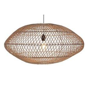 Hanglamp UFO Rotan Naturel 80 cm