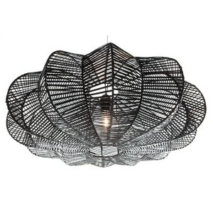 Hanglamp Star Rotan Zwart 80 cm