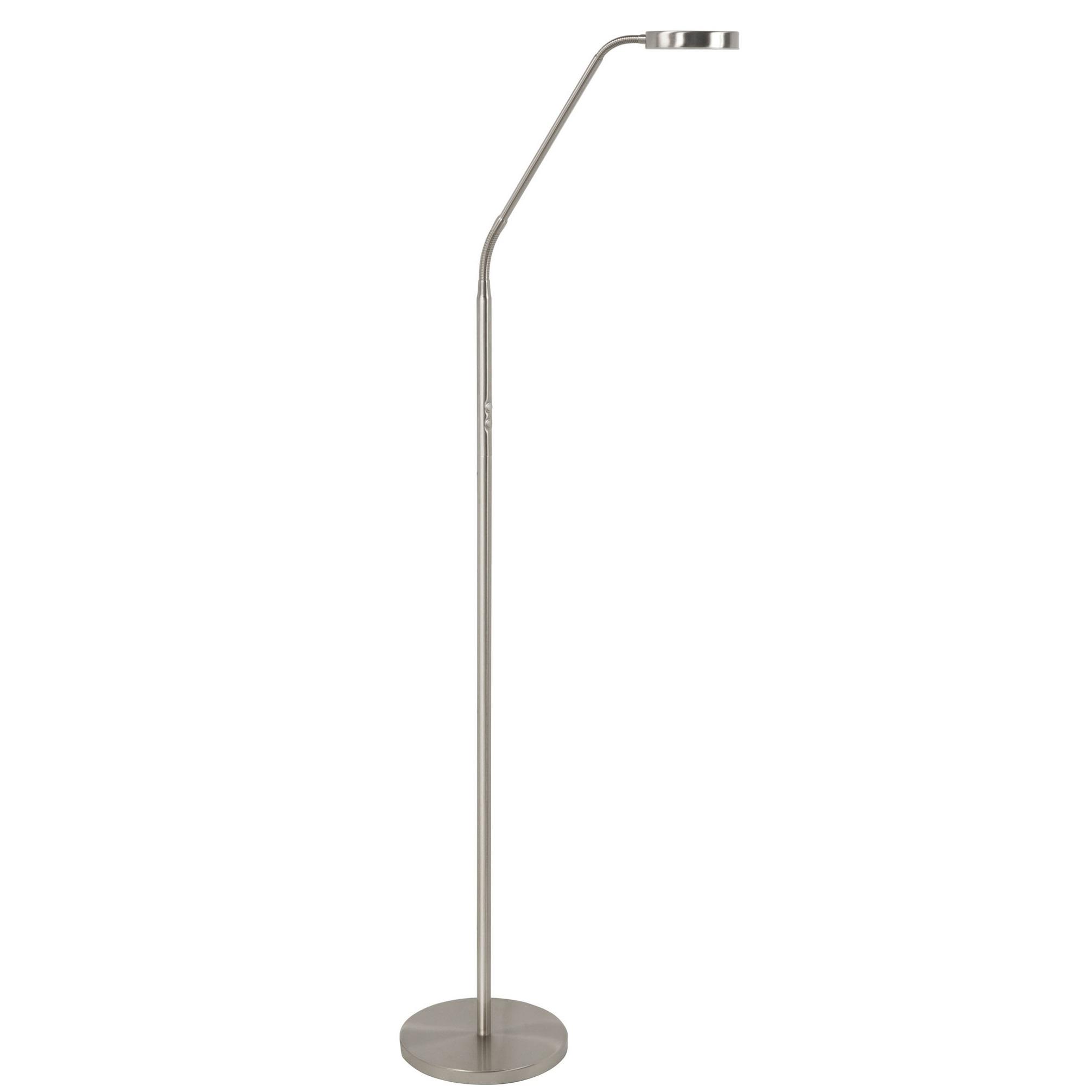 Vloerlamp Comfort RVS Led incl. Dimmer