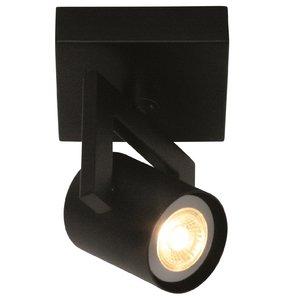 Spot Valvoled LED Zwart 1 Lichts