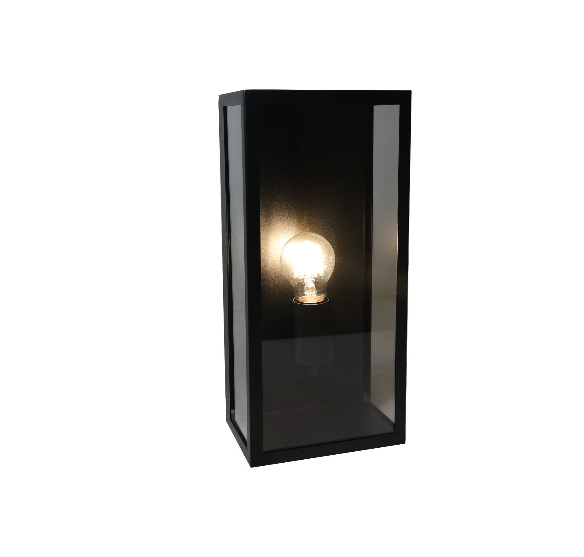 Artdelight Buitenlamp Rowin Zwart 35cm