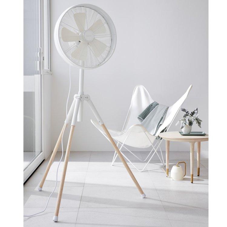 Lucci Ventilator Breeze Tripod White 41cm