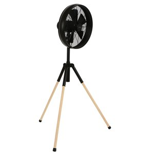 Lucci Staande Ventilator Breeze Tripod Black 41cm