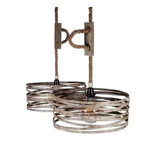 Hanglamp Twist Vintage Zink