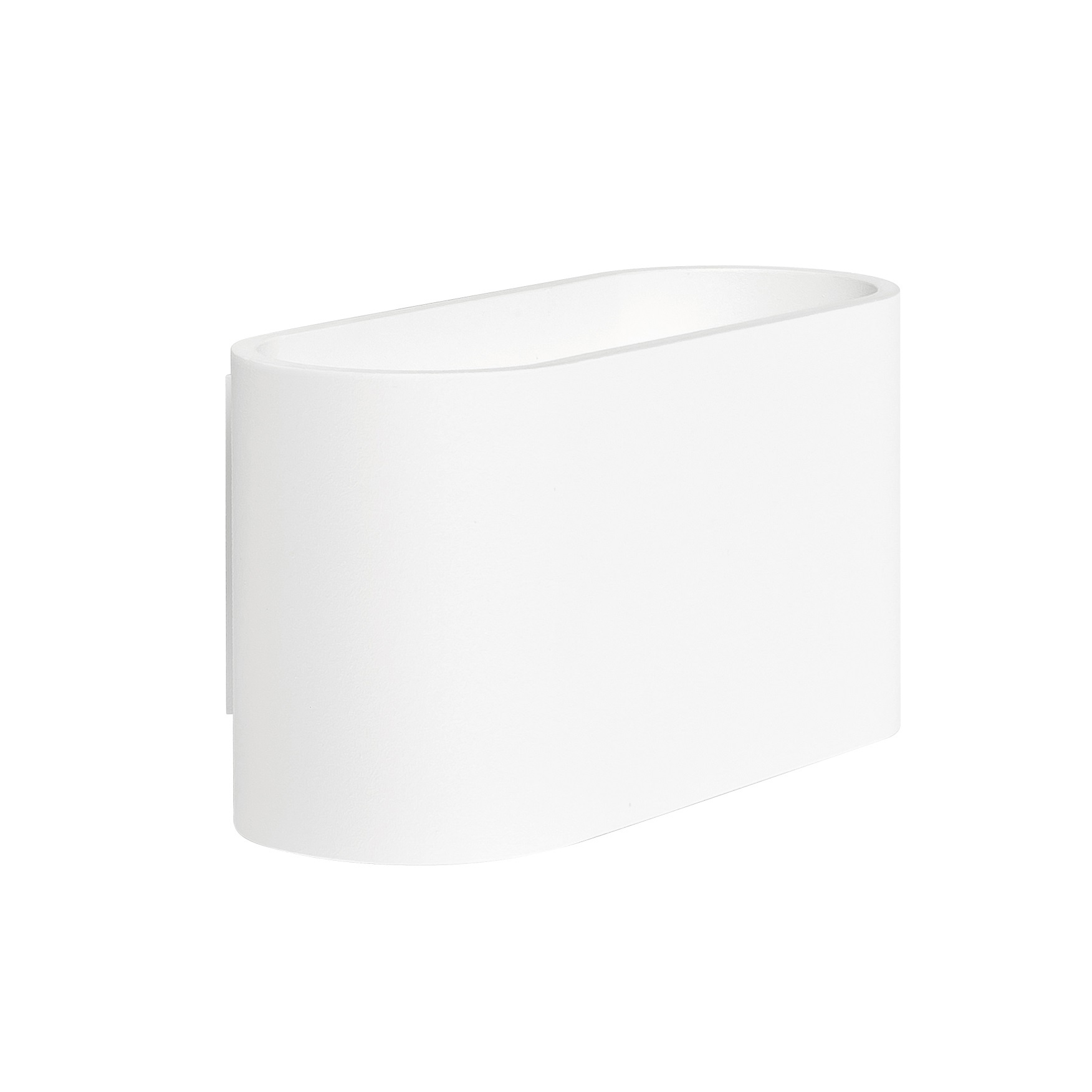 Wandlamp Oval Wit G9 16CM