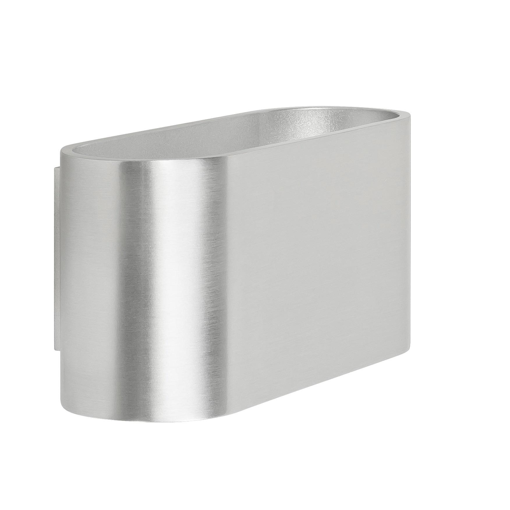 Wandlamp Oval Aluminium G9 16CM