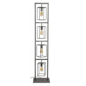 Vloerlamp Tower Old Silver 160cm