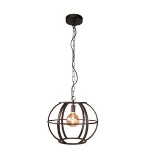 Hanglamp Elara Black Steel 48cm