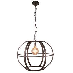 Hanglamp Elara Black Steel 60cm XL