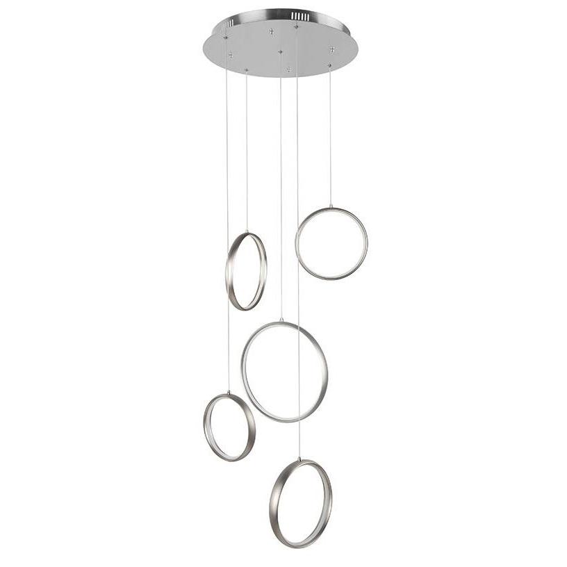 Videlamp Olympic Rings RVS Led 1.45 Mtr