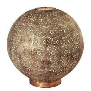 Tafellamp Motivo Antiek Goud & Wit  Ø 40cm