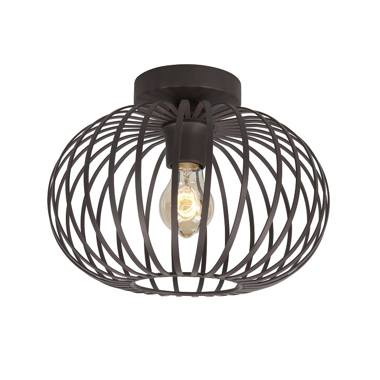 Plafondlamp Bolato Bruin 30cm