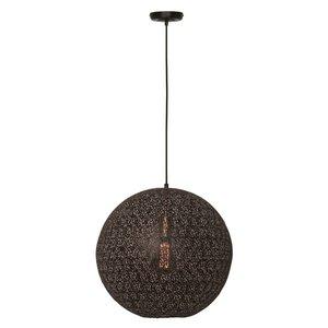 Hanglamp Moon Zwart Mat Goud 40cm