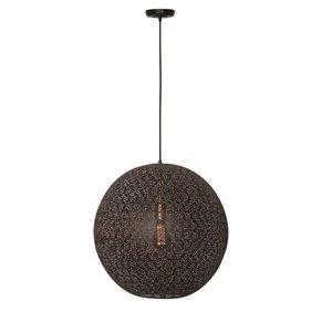 Hanglamp Moon Zwart Mat Goud 50cm