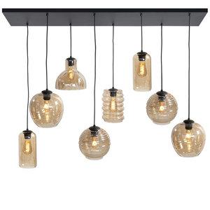 Hanglamp Fantasy Amber 8 Lichts