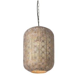 Hanglamp Vase Antiek Goud 26cm Ø