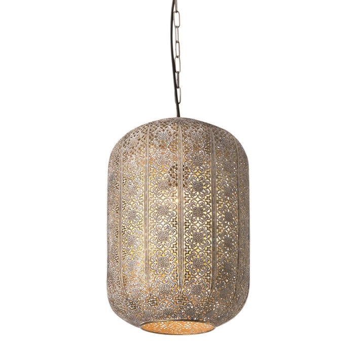 Hanglamp Vase Antiek Goud 26cm �