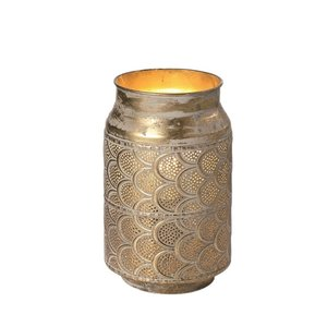 Tafellamp Milk Antiek Goud 15cm