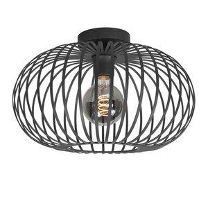 Plafondlamp Bolato Zwart 40cm