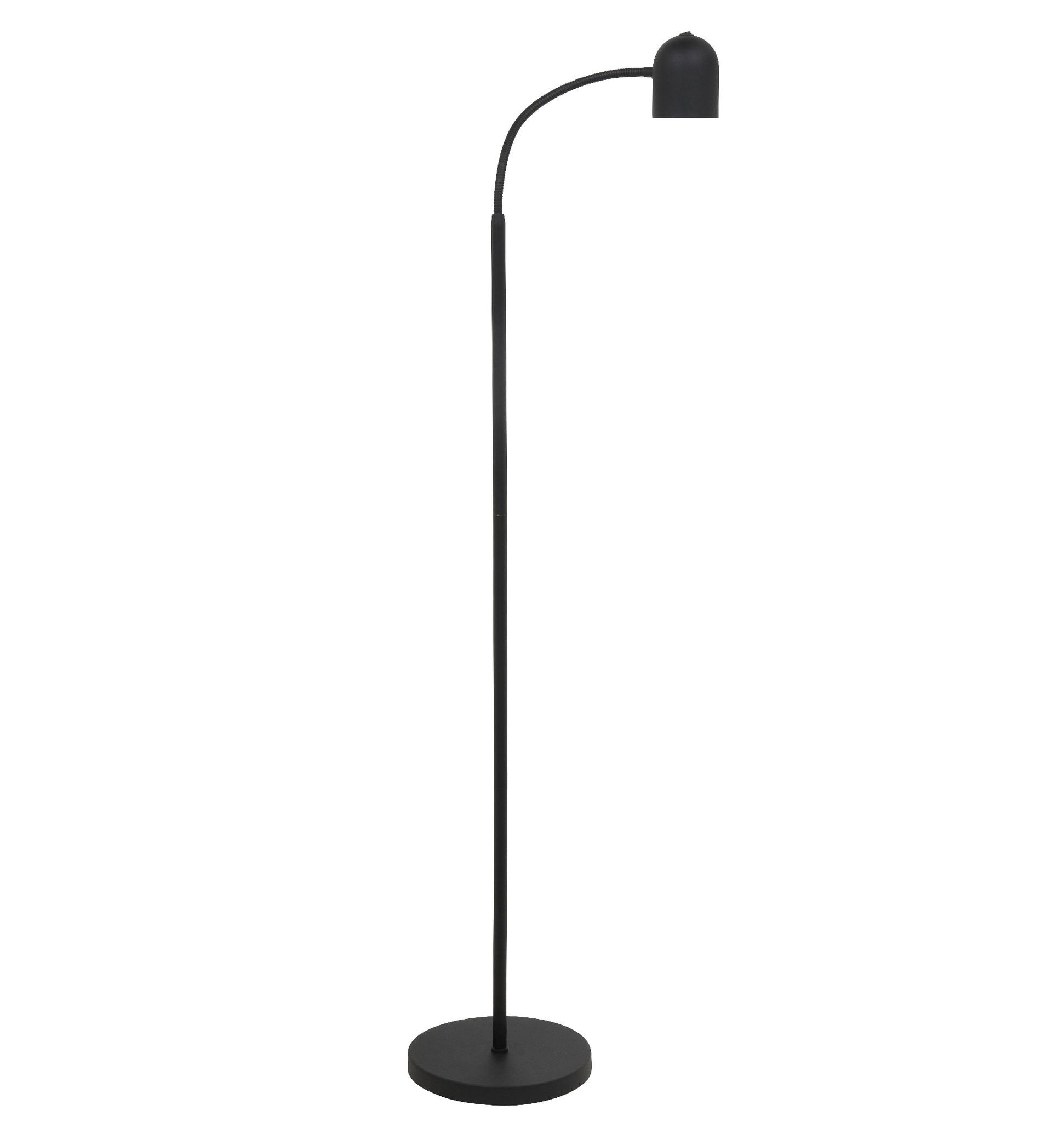 Vloerlamp Umbria Mat Zwart Flex LED