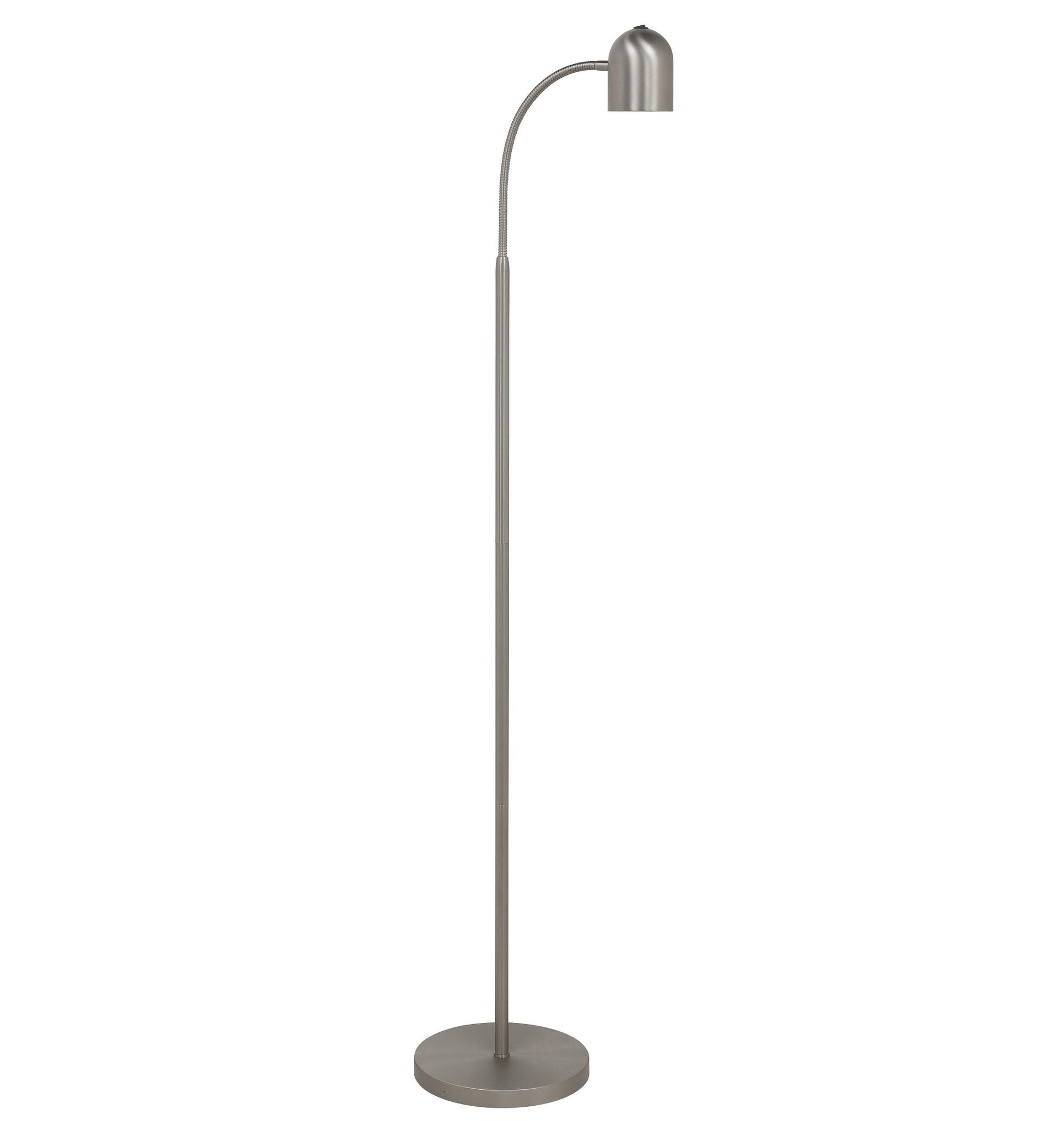 Vloerlamp Umbria RVS Flex LED