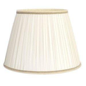 Vloerlamp Kap Klassiek Plooikap Crème 55cm