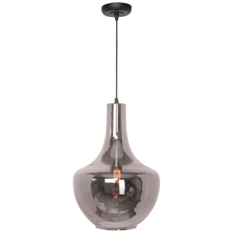 Hanglamp Zaino Smoke Glass 37cm