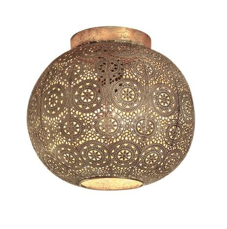 Plafondlamp Motivo Antiek Goud � 28cm