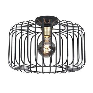 Plafondlamp Lucca Zwart 40cm
