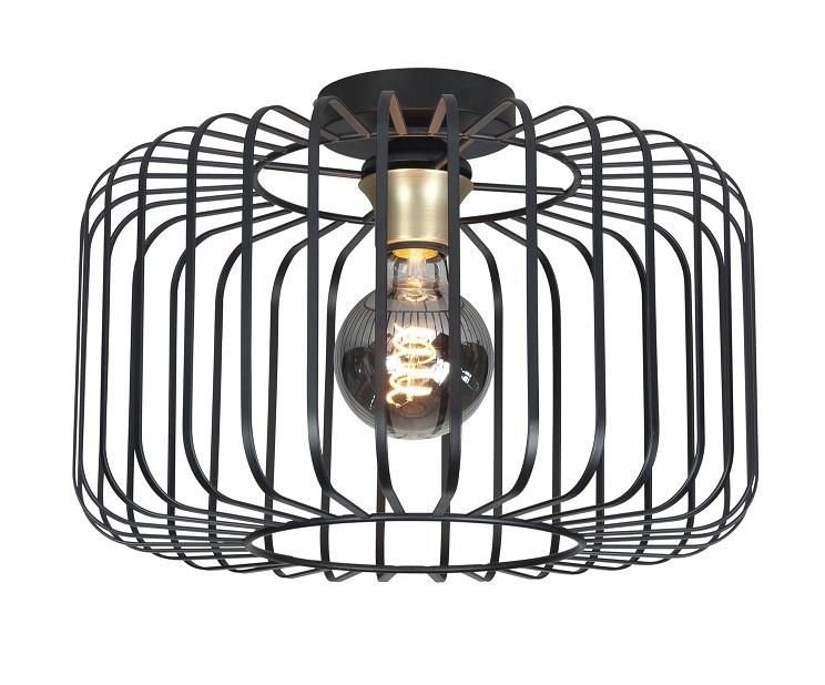 Op Design & Trends: Alles voor de inrichting van uw woning is alles over licht te vinden: waaronder lampentoppers en specifiek Plafondlamp Lucca Zwart 40cm
