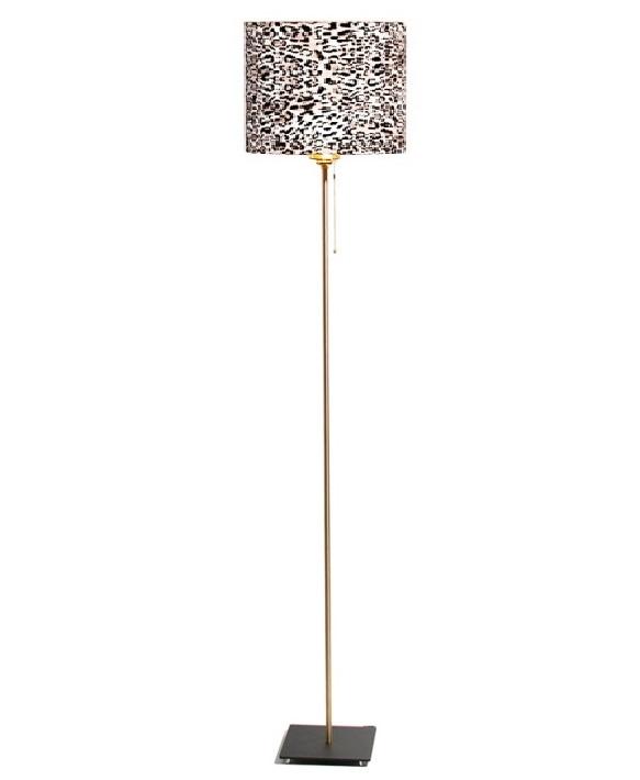 Vloerlamp Bardot Velours Panther 165cm
