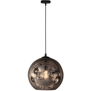 Hanglamp Visiera Smoke Glass 30cm