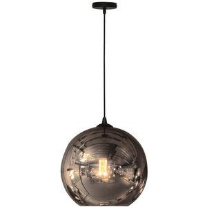 Hanglamp Visiera Smoke Glass 40cm