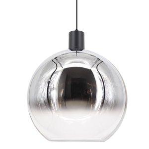 Hanglamp Rosario Glas Chroom & Helder 40cm