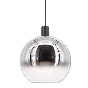 Artdelight Hanglamp Rosario Glas Chroom & Helder 30cm