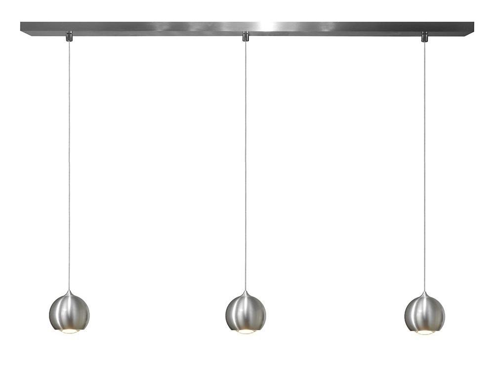 Artdelight Hanglamp LED Denver Aluminium Ø 10cm 3 Lichts