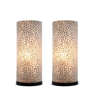 Tafellamp Wangi White 40cm 2 Stuks