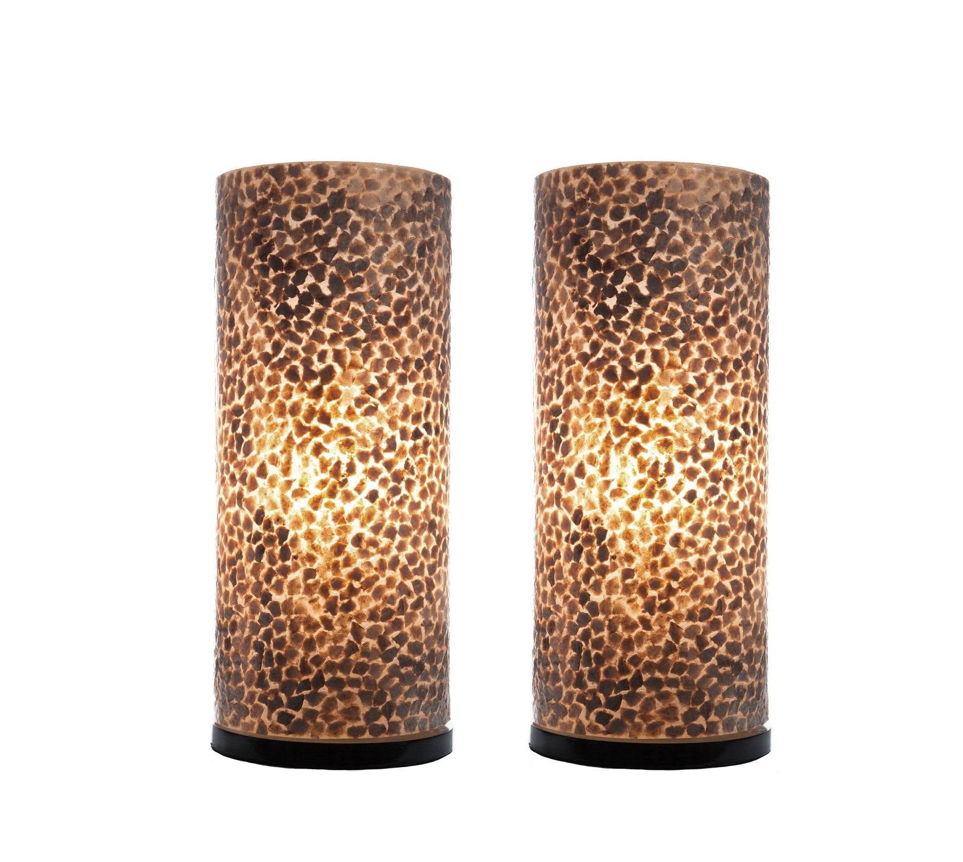 Tafellamp Wangi Gold 40cm 2 Stuks