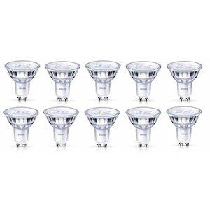 Philips GU10 3.8Watt LED-lamp Warm glow 10 Stuks